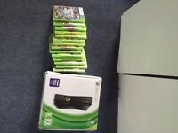 Xbox 360 (4gb), 3 controllers, 14 games including GTA V