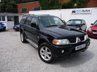 2005 Mitsubishi Shogun Sport 2.5TD Warrior, 5Dr 4X4 SUV, MOT, EW CD CL