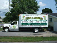 100% LOCAL JUNK REMOVAL! 613-929-2929