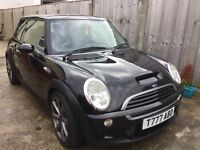 Mini Cooper s 2003 private plate uprated pulley and exhaust drives well