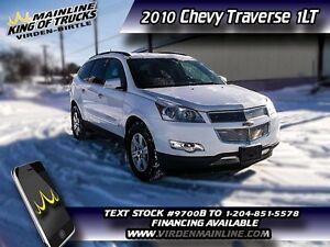 2010 Chevrolet Traverse 1LT  - $141.50 B/W
