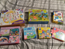 7 puzzles and games