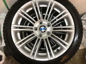 Pneus Hiver et Été + Mag BMW, 225/45/ZR18, 225/45/R18