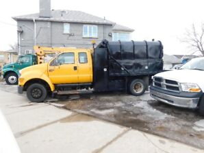 2006 FORD F650 ARBORIST DUMP  BOX   ONLY  42,450 KMS