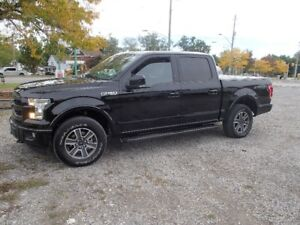 2017 ford f-150 lariat 5.0l loaded , leather , nav. 5.5ft box