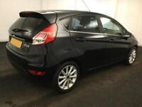 Ford Fiesta 1.0, 1.2, 1.4, EcoB Zetec Titanium BLACK, 5dr FROM £41 PER WEEK!