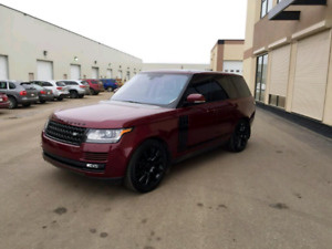 2016 RANGE ROVER Super charged full size.