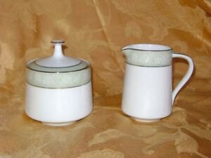 Noritake Vienne Cream & Sugar Bowl Creamer Vintage China