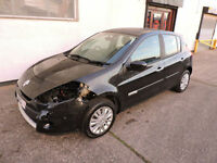 61 Renault Clio 1.2 I - Music 5-Dr Damaged Salvage Repairable