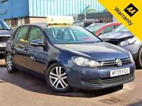 2009 VOLKSWAGEN GOLF 2.0 SE TDI 109 BHP+P/X WELCOME+GENUINE VW CAMBELT+WATERPUMP