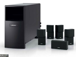 like new Bose acoustimass 10 IV with original package
