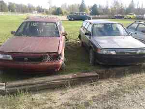1989 Toyota  parts cars