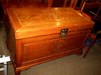 HANDSOME VINTAGE ASIAN CAMPHOR CHEST AT CHARMAINE'S