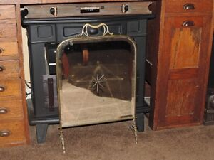 VICTORIAN FIRE PLACE SCREEN