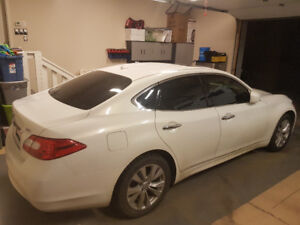 2011 Infiniti M37X Sedan AWD winter tires