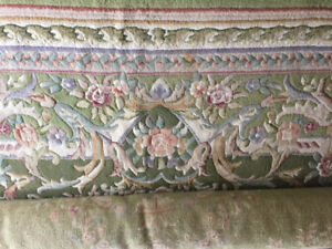 Vintage Aubusson area Rug. Approx 12' x 15'