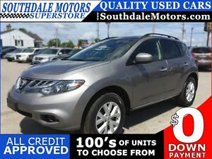 2012 NISSAN MURANO SV * AWD * SUNROOF * REAR CAM * LOW KM