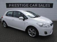 2011 Toyota Auris 1.8 T Spirit 5dr PETROL/ELECTRIC white CVT