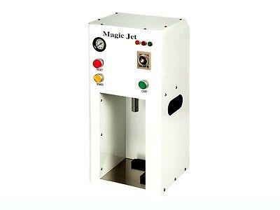 Magic Jet Denture Injection System 2 Flasks 1 Case Remover Stand 110v