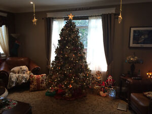 7.5 Foot Bayberry Spruce Artifical Tree (Moving, must sell)
