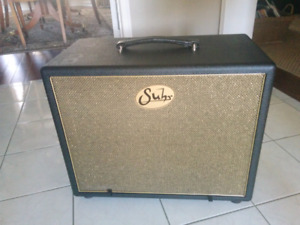 Suhr 1x12 Ported Cab with Vintage 30 and Cover