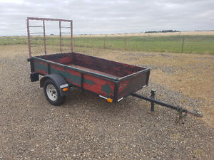 4x8' Utility Trailer with Ramp