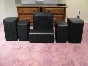 Infinity Surround Sound speakers