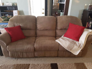 Microsuede Couch - really comfortable