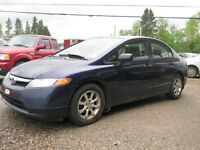 2007 Honda Civic DX-G, 4 Portes, Automatique  4900$