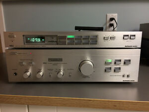 Vintage NEC A520E Amplifier with matching T651E Tuner