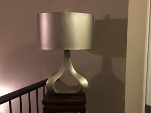 Sliver Table Lamp