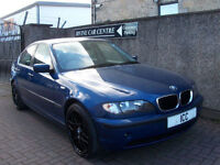 "03 03 BMW 320i SPORT SE 2.2 V6 4DR FULL LEATHER 18"" M-SPORT ALLOYS LOW MILEAGE"