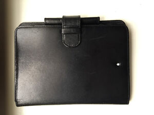 Leather MontBlanc agenda - REAL - Windsor area