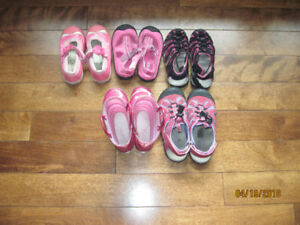Girls Spring & Summer Shoes-size 10.5/11/13