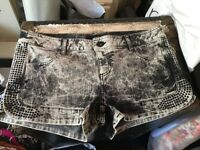 Next size 14 denim shorts