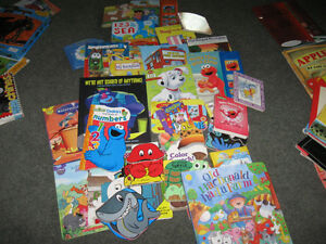 Lot of toddler's hard covered books
