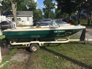 Fiberglass Boat for Sale