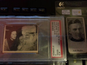 Rare 1923 Jack Hughes Hockey Card & 1948 Babe Ruth Card