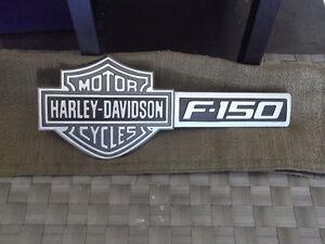 FORD F150 HARLEY DAVIDSON.LOGO D'ORIGINE TAIL GATE.