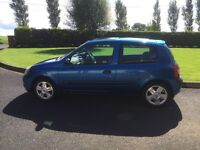Renault Clio, 3 Door, 1500cc, Metallic Blue, Nice Runner