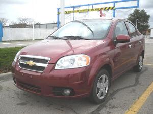 2011 Chevrolet Aveo Sedan - ONLY 39.700 km  No Mistake!!