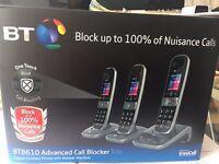 *BRAND NEW* BT8610 ADVANCED CALL BLOCKER TRIO HANDSET