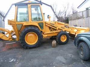 1980 FORD BACKHOE 555 IN GOOD COND $8900 ONO
