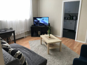 Furnished 1 Bedroom + Internet, Cable and Utilities Included