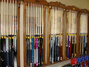 BILLIARD SURPLUS - CLEARANCE CENTRE - KITCHENER!!! CUES, DARTS