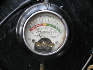 Antique Weidenhoff Voltmeter Double Duty Peterborough Peterborough Area image 2