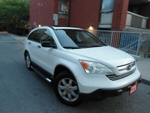 2008 HONDA CR-V EX , SUNROOF , CHROME SIDE STEP BARS ,ALLOYS !!!