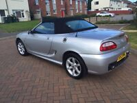 Automatic SMGTF Soft Top Convertible MG and 12 months mot ready go.