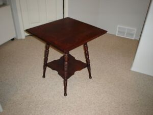 Antique Barley Twist Occasional Table