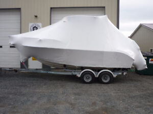 Mobile Boat Shrink Wrapping! (www.protectallshrinkwrap.ca)